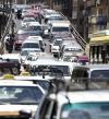 توقف حركة المرور أعلى محور صفط اللبن إثر تصادم 5 سيارات
