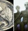 مفاجأة بالصور .. عملات مصرية قديمة تحمل صور مخلوقات ومركبات فضائية !!