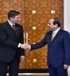 العلاقات الثنائية وقضايا المنطقة يتصدران القمة المصرية – السلوفينية