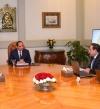 الرئيس السيسى يستعرض الاكتشافات البترولية مع إسماعيل والملا