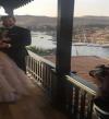 بالفيديو.. رقصة الرداد وشيرين رضا بالنوبى فى زفاف عمرو وكندة