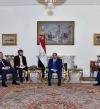 السيسى يبحث مع نائب رئيس الوزراء الروسى تعزيز التعاون الثنائى
