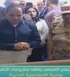 السيسى يتفقد مدينة الإسماعيلية الجديدة للوقوف على أعمال التشييد