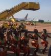 أوغندا تستقبل السيسى بالطبل والرقص