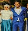 """كواليس زفاف رمضان وحبيبة.. قصة حب """"بقرار جامعى"""""""