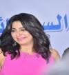 بالصور .. وفاء عامر لخالد يوسف: السينما أهم من السياسة