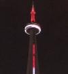 """بالصور .. كندا تضئ برج """"CN"""" بألوان علم مصر تضامناً مع ضحايا هجوم العريش"""