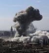 مجموعات مسلحة تستهدف احياء سكنية بدمشق بالصواريخ