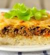 طبق اليوم .. طاجن أرز باللحم والبشاميل