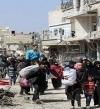 إجلاء أكثر من 5 آلاف مدنى عن الغوطة الشرقية منذ صباح اليوم