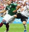المكسيك تهزم ألمانيا بهدف نظيف فى أولى مفاجآت المونديال