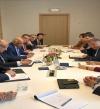 """عبد العال يلتقى رؤساء """"الدفاع والأمن وحقوق الإنسان"""" بالبرلمان الأوروبى"""
