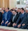 بالصور .. الأسد يؤدى صلاة عيد الأضحى فى جامع الروضة بدمشق