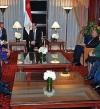 السيسى يلتقى رئيسة صندوق النقد الدولي كريستين لاجارد