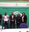 مصنع البردي التابع لمجموعة فاين الصحية القابضة ينال شهادة البصمة البيئية للمنتج