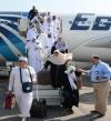 مصر للطيران تسير اليوم 18 رحلة لإعادة 4200 حاج فى سادس أيام الجسر الجوى