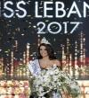 بالصور .. تتويج بيرلا حلو ملكة جمال لبنان لعام 2017