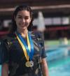 بالصور .. ياسمين صبرى تفوز بالذهب ببطولة الأساتذة للسباحة
