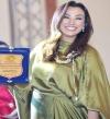بالصور .. صفاء جلال تتألق بمسابقة ملكة جمال الحجاب