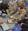 بالصور.. السيسى: فخور بأبناء مصر الأبطال .. وفخور بوجودى بينهم