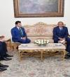 السيسى يؤكد لرئيس كاف حرص مصر على توفير جميع المتطلبات لنجاح أمم أفريقيا