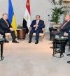 السيسي يلتقى رئيس اوكرانيا على هامش مؤتمر ميونخ للأمن