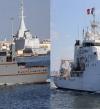 البحرية المصرية والفرنسية تنفذان تدريباً بحرياً عابراً بالبحر المتوسط