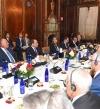 السيسى يحضر عشاء عمل مجلس الاعمال للتفاهم الدولى
