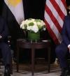 ترامب : السيسى قائد عظيم استعاد النظام فى مصر بعد الفوضى