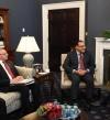 مدبولى يلتقى نائب الرئيس الامريكى فى البيت الابيض