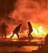 145 مصاباً فى ليلة جديدة من الاحتجاجات العنيفة فى بيروت
