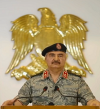 خليفة حفتر يتعهد بالتصدى للغزو التركى وتحرير كامل التراب الليبيى من الإرهابيين