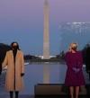 فور وصوله واشنطن وقبل ساعات من تنصيبه .. بايدن يشارك في حفل تأبين ضحايا كورونا