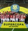 أتلتيكو بلباو يتوج بلقب السوبر الإسباني بفوزه على برشلونة 3-2