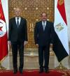 خلال المؤتمر الصحفى المشترك مع الرئيس التونسي .. السيسي يؤكد على ضرورة الحفاظ على الحقوق المائية لمصر