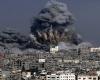 الجيش الإسرائيلى يقصف غزة