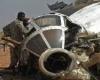 تحطم طائرة عسكرية سودانية ومقتل طاقمها