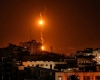 قصف إسرائيلي لقطاع غزة رداً على 3 صواريخ فلسطينية