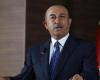 وفد تركي برئاسة وزير الخارجية جاويش أوغلو يصل طرابلس فى زيارة مفاجئة