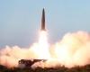 كوريا الشمالية تطلق صاروخاً باليستياً قبالة الساحل الشرقي