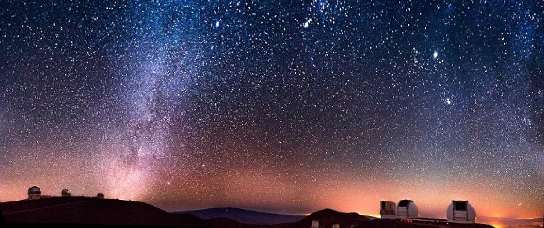 مونا كيا .. الجبل البركانى الساحر وسماءه المذهلة
