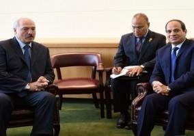 السيسى ولوكاشينكو يفتتحان منتدى الأعمال المصرى ـ البيلاروسى