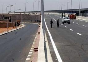 إغلاق محور الشهيد بمدينة نصر 3 أيام لتركيب الاجزاء المعدنية لكوبرى المشير