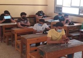 انطلاق الامتحان التجريبى الثالث لطلاب الثانوية العامة على البابل شيت والتابلت اليوم