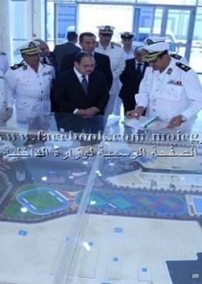وزير الداخلية يتابع المراحل النهائية لإنشاء معهد تدريب القوات الخاصة