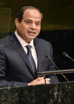 ننشر نص كلمة الرئيس السيسى بالاجتماع رفيع المستوى حول ليبيا