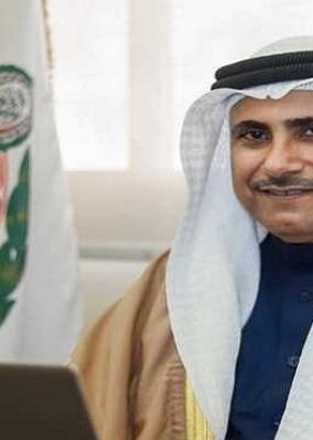 رئيس البرلمان العربي يجدد دعمه لمصر والسودان في الحفاظ على أمنهم المائي