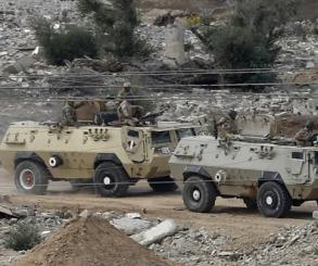مقتل 5 تكفيريين بينهم قيادى من بيت المقدس فى شمال سيناء