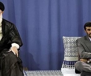 نجاد يهاجم خامنئى : يا مستبد تراجع عن عنجهيتك !!