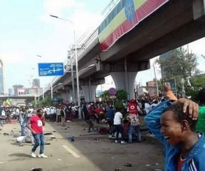 83 جريحاً فى انفجار استهدف مسيرة لمؤيدى رئيس وزراء اثيوبيا